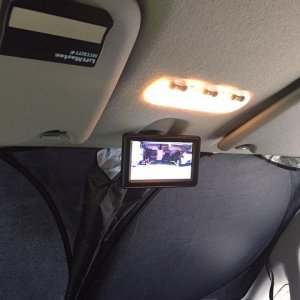 Back-up camera monitor