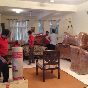 Agarwal Packers  Chair Packing